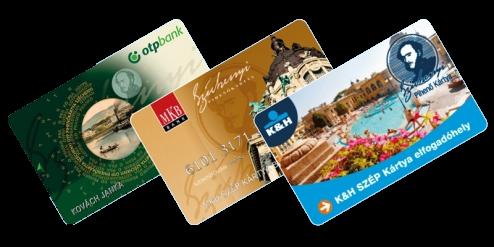 Bankkártyás vagy SZÉP kártyás fizetés